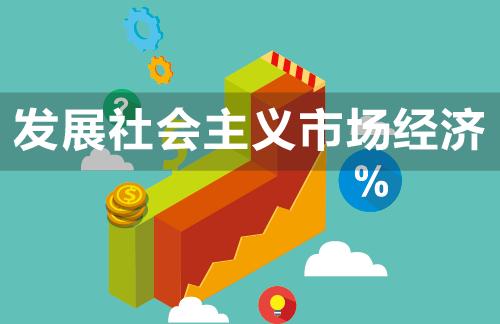 发展社会主义市场经济