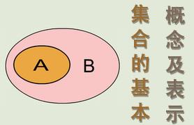 集合的基本概念及表示方法